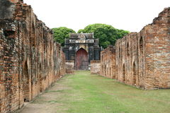 Temple in Lop Buri. Thailand Stock Image