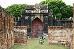 Temple in Lop Buri Royalty Free Stock Photo