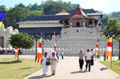 The Temple of the Lord Buddha Tooth Relic Stock Photo