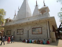 Temple of Lord Krishna. Lord Krishna temple at Mathura , India Stock Photo