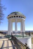 Temple of Love - Rotunda on quay of Volga and Korostel river. Stock Photos