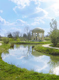 Temple of love of Versailles in France. Royalty Free Stock Photos