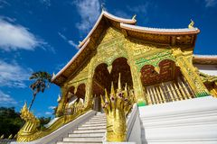 Temple in Luang Prabang Stock Images