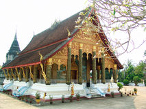 Temple in Luang Prabang. Royalty Free Stock Images