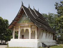 Temple at luang prabang in laos Royalty Free Stock Image