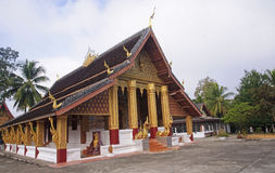 Temple,in Luang Prabang royalty free stock photography