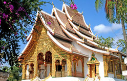 Temple in Luang Prabang, Laos Royalty Free Stock Photography