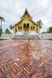 Temple in Luang Prabang Royal Palace Museum Stock Images
