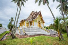 Temple in Luang Prabang Royal Palace Museum Stock Photo