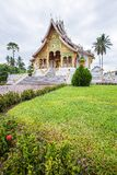 Temple in Luang Prabang Royal Palace Museum Royalty Free Stock Photography