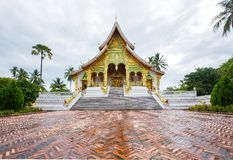 Temple in Luang Prabang Royal Palace Museum Royalty Free Stock Photos