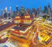 Temple lunaire de nouvelle année/Bouddha Photo libre de droits