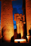 Temple of Luxor Royalty Free Stock Photos