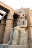 The statue in the Temple of Luxor Stock Photo
