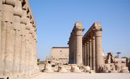Temple of Luxor, Egypt Stock Photos