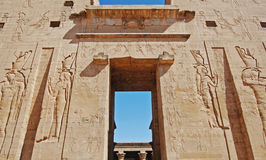 Temple at Luxor, Egypt stock photography