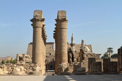 The Temple of Luxor in Egypt Stock Photos
