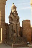The Temple of Luxor in Egypt Stock Image