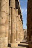 The Temple of Luxor in Egypt Royalty Free Stock Photography