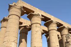 The Temple of Luxor in Egypt Stock Images