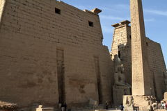The Temple of Luxor in Egypt Royalty Free Stock Photo