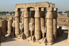 The Temple of Luxor in Egypt Stock Photography