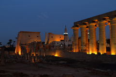 The Temple of Luxor in Egypt Royalty Free Stock Images