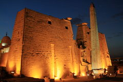 The Temple of Luxor in Egypt Stock Photo