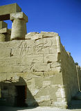Temple in Luxor Stock Image