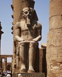 Temple of luxor Royalty Free Stock Photo