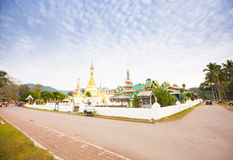 Temple in  Mae Hon Song, Thailand Stock Image