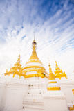 Temple in  Mae Hon Song, Thailand Royalty Free Stock Photo