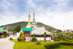 Temple in  Mae Hon Song, Thailand Royalty Free Stock Images