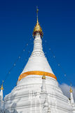 Temple in Mae Hong Son City, Thailand. Stock Images