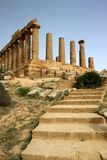 Temple of Magna Grecia Royalty Free Stock Images