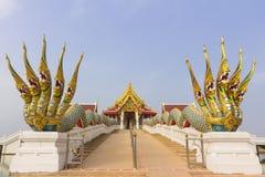 Temple at Maha chulalongkorn rajavidlayala University. Lumsri, Ayutthaya Stock Photography