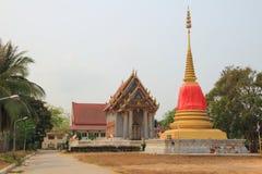 Temple. At Mahachulalongkornrajavidyalaya University , Ayutthaya province Thailand royalty free stock image