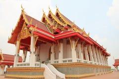 Temple. At Mahachulalongkornrajavidyalaya University , Ayutthaya province Thailand royalty free stock photos