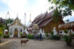 Temple mahawan de Wat en Chiang Mai Photos stock