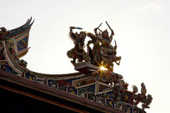 Temple in Malacca Stock Photography