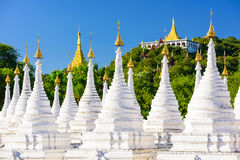 Temple in Mandalay Stock Photo