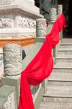 Temple Marble Steps and Railing Royalty Free Stock Image