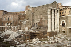 Temple of Mars Ultor Royalty Free Stock Photography