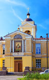 The temple of the martyr Andrey Kritsky in the suburb of Petersburg, Royalty Free Stock Photos
