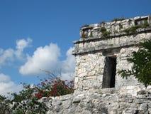 Temple maya Image libre de droits