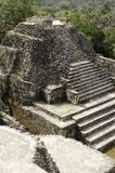 Temple maya photo stock