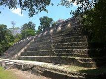 Temple maya antique image libre de droits