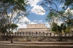 Temple maya dans Chichen Itza photos libres de droits
