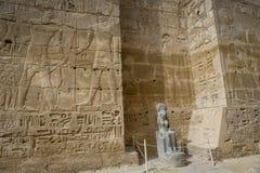 Temple of Medinet Habu, dedicated to Rameses III. - UNESCO World Stock Images