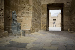 Temple of Medinet Habu, dedicated to Rameses III. - UNESCO World Royalty Free Stock Images